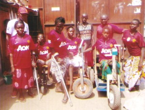 Sierra Leone disabled United fans