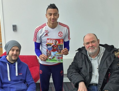 Jesse Lingard Interview