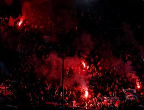 PSG Crowd Trouble