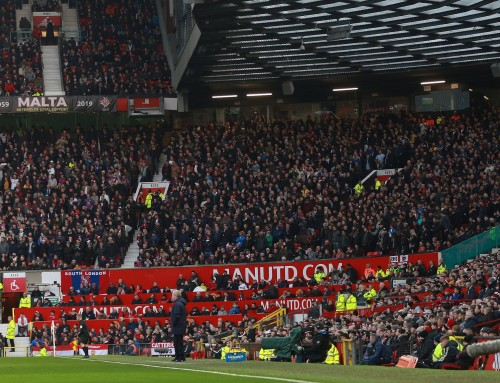 The welcome of fans back to OT