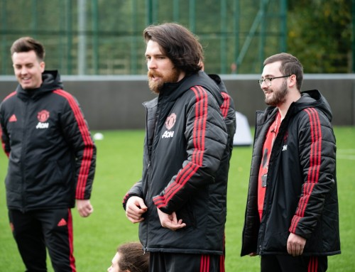 Manchester United Foundation Weekly Exercise Class
