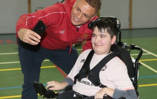 Wes Brown powerchair 20191