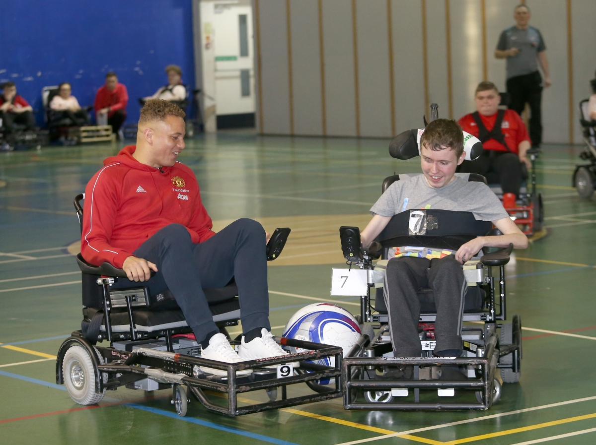 Wes Brown powerchair 20195